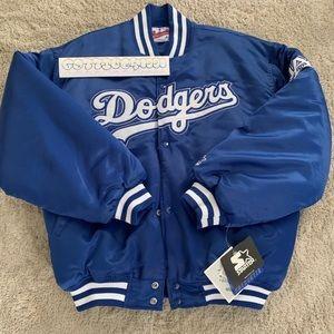 Vintage 90s LA DODGERS STARTER Jacket Blue XL